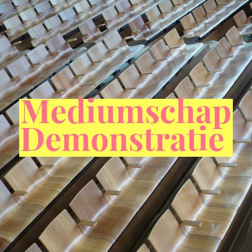 Demonstratie mediumschap